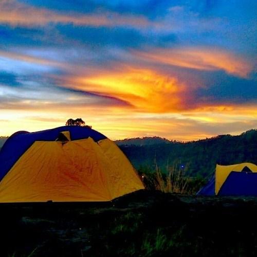 potato bali tour_mount batu camping